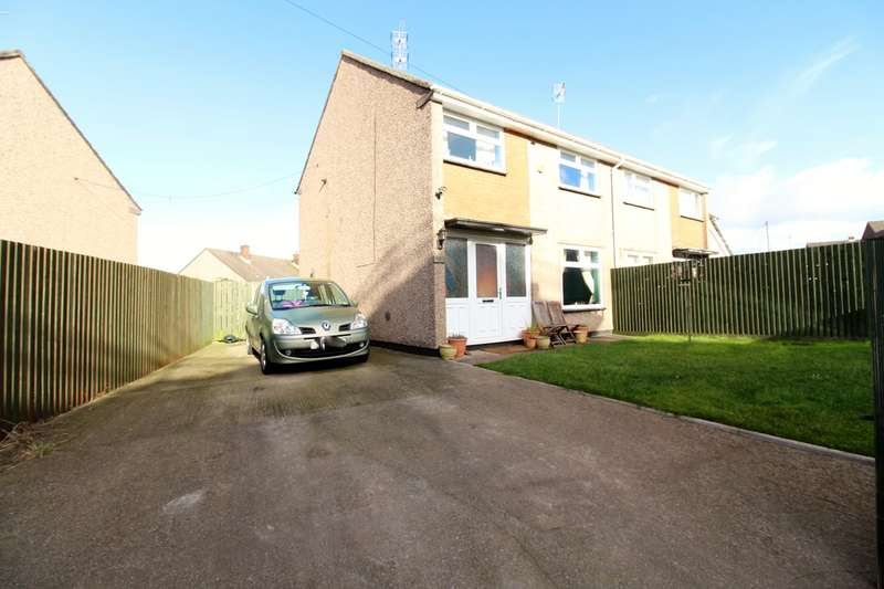 3 Bedrooms Semi Detached House for sale in Humber Road, Bettws, Newport, NP20