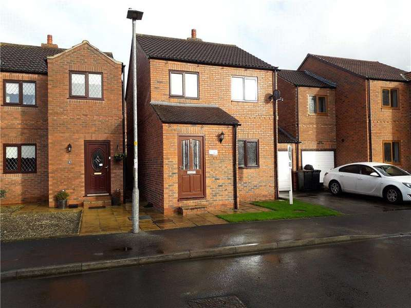 3 Bedrooms Link Detached House for rent in Gables Court, Dishforth, Thirsk, North Yorkshire