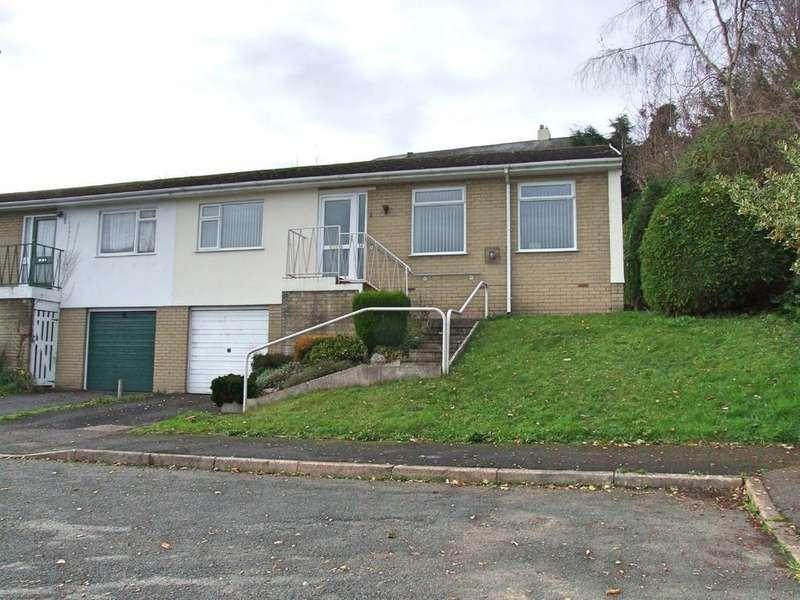 2 Bedrooms Semi Detached Bungalow for sale in Ashburton, Devon