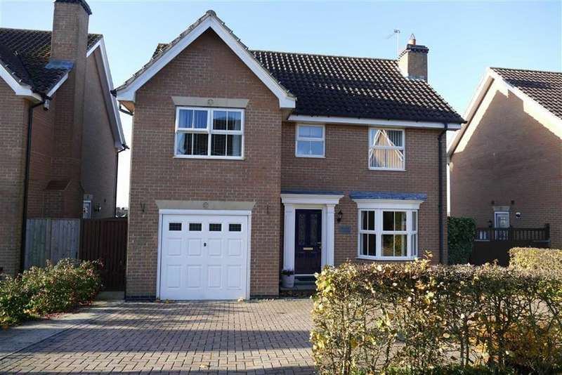 4 Bedrooms Detached House for sale in Lysander Drive, Market Weighton