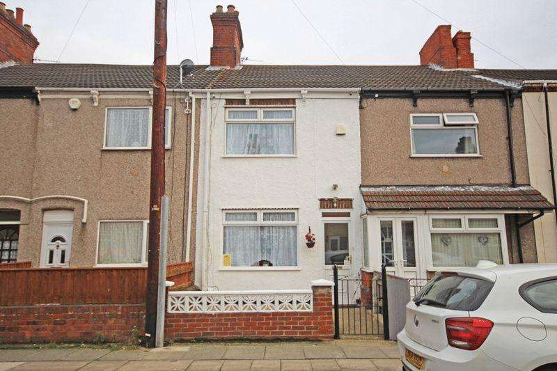 2 Bedrooms Terraced House for sale in FRASER STREET GRIMSBY