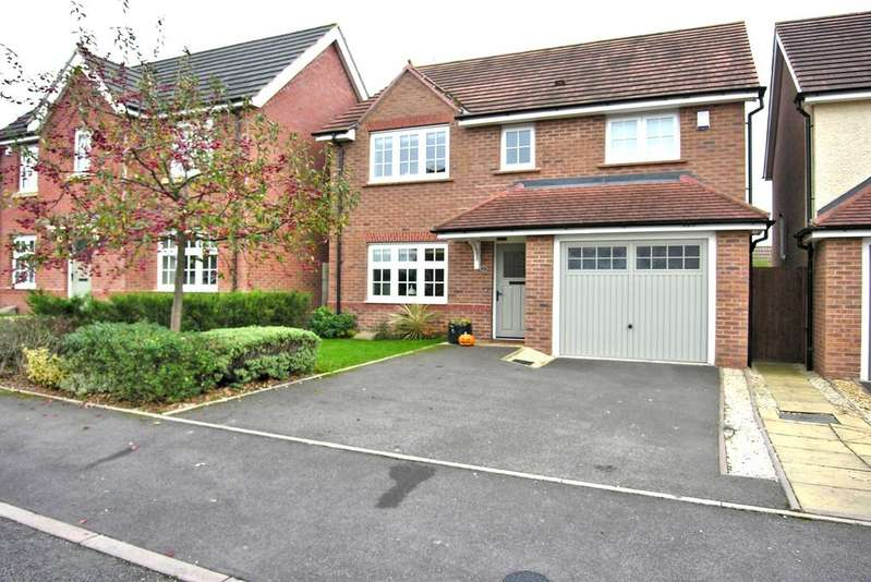 4 Bedrooms Detached House for sale in REED DRIVE, CASTLE VIEW, STAFFORD ST16