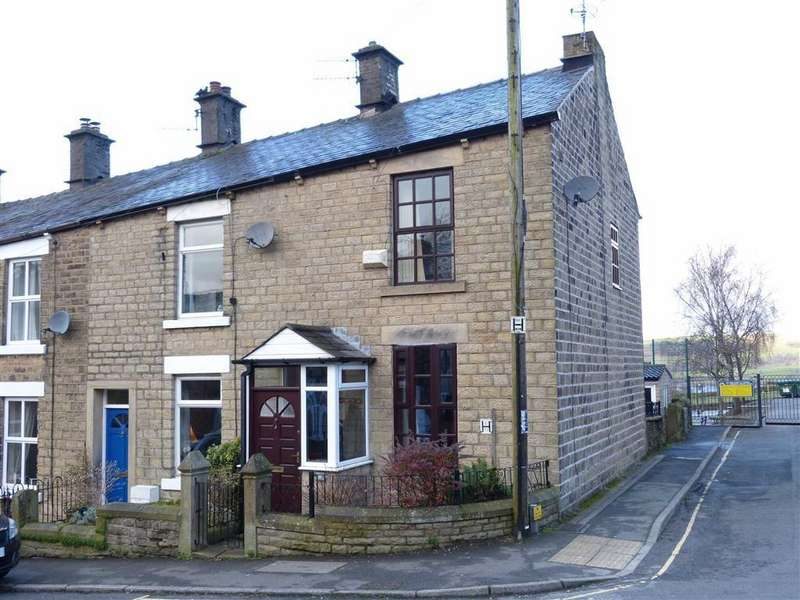 3 Bedrooms End Of Terrace House for sale in Post Street, Padfield, Glossop