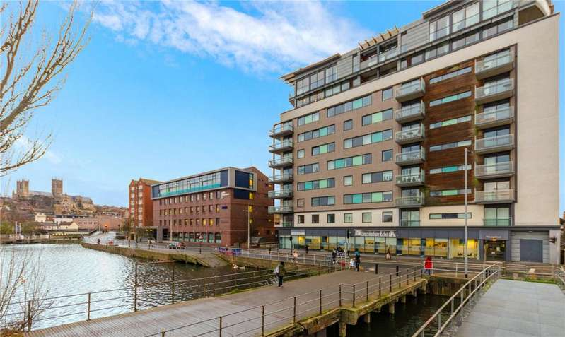 2 Bedrooms Flat for sale in Witham Wharf, Brayford Street, Lincoln, Lincolnshire, LN5