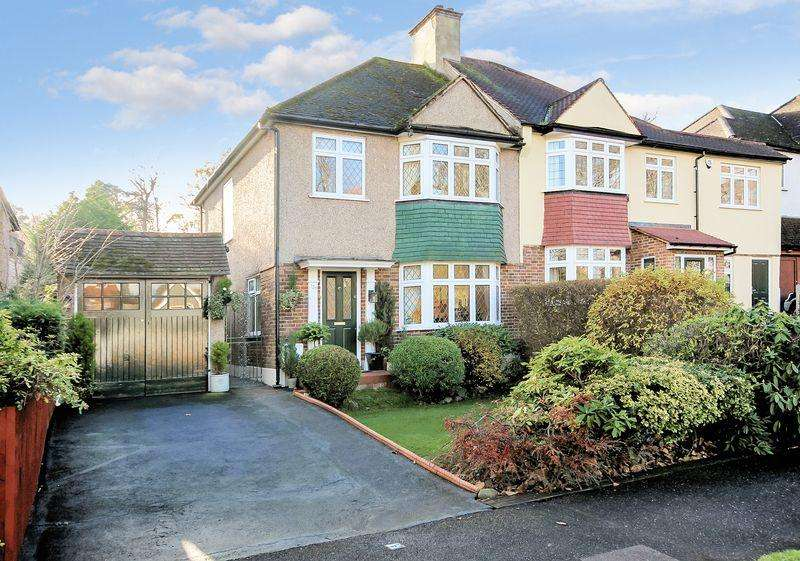 3 Bedrooms Semi Detached House for sale in Shirley Church Road, Shirley