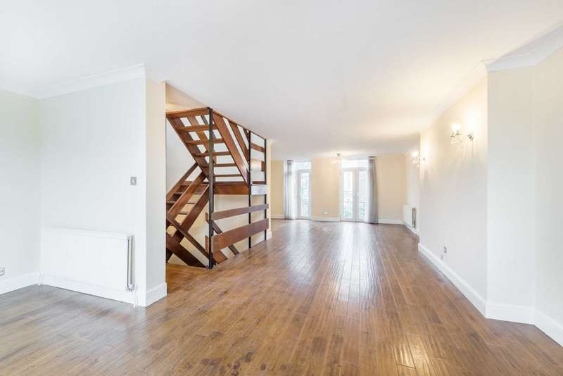 4 Bedrooms House for sale in Hornby Close, Swiss Cottage, London, NW3