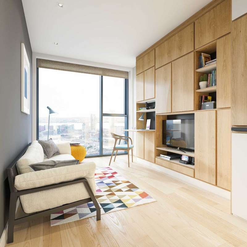 1 Bedroom Apartment Flat for sale in The Metal Works, 60 Vauxhall Street, Liverpool, Lancashire, L3