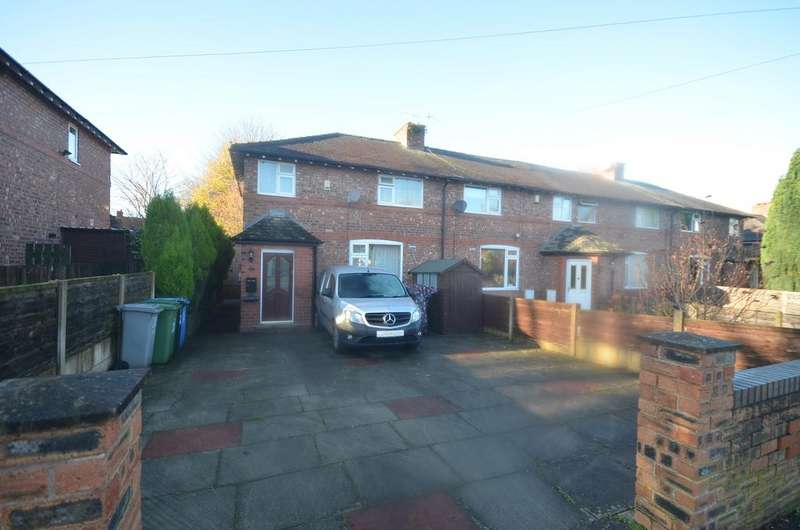 3 Bedrooms End Of Terrace House for sale in Stamford Avenue, Altrincham WA14