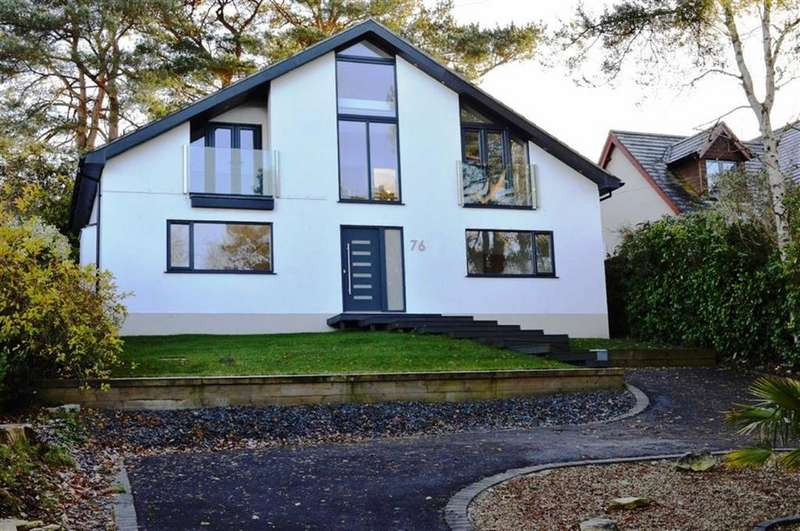 4 Bedrooms Detached House for sale in Hillside Road, Wimborne, Dorset