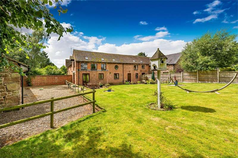3 Bedrooms Barn Conversion Character Property for sale in Pitchin Eye Barn, Forton, Newport, Shropshire, TF10