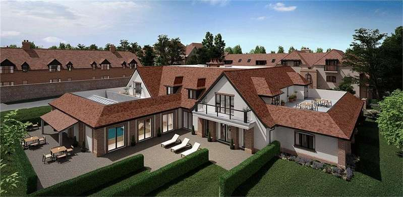 3 Bedrooms Flat for sale in Stanbridge Lane, Awbridge, Romsey, Hampshire