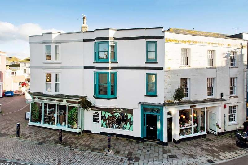 3 Bedrooms Maisonette Flat for sale in Northumberland Place, Teignmouth, TQ14 8DD