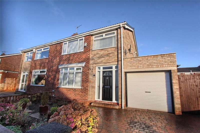3 Bedrooms Semi Detached House for sale in Middleton Avenue, Woviston Court