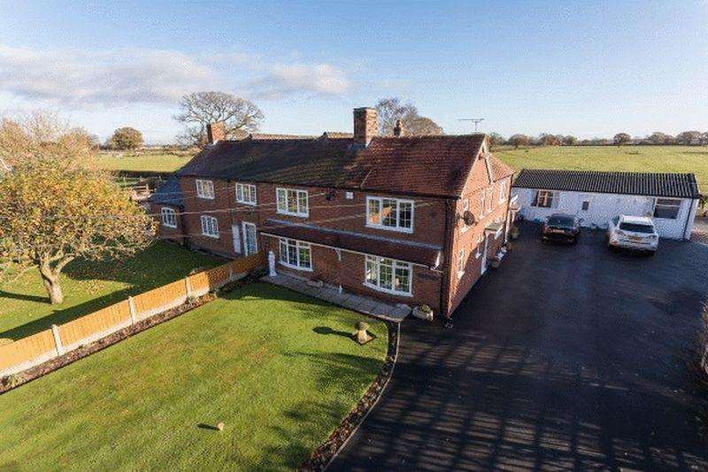 4 Bedrooms Semi Detached House for sale in Chapel Cottage, Coole Pilate, Near Nantwich