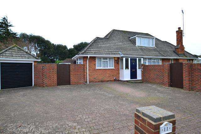 3 Bedrooms Chalet House for sale in Fernhurst Drive, Goring by Sea, West Sussex, BN12 5AS