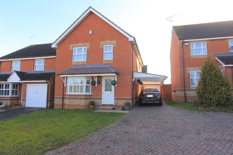 4 Bedrooms Detached House for sale in Grayling Road, Pinewood, Ipswich, Suffolk, IP8 3NG