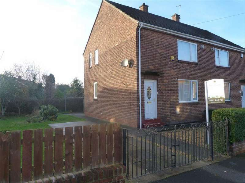2 Bedrooms Semi Detached House for rent in Woodside Way, Ryton, Tyne Wear