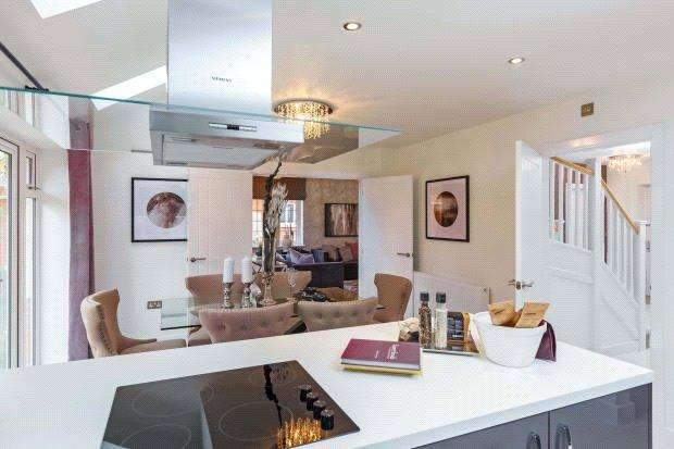 4 Bedrooms Detached House for sale in Plot 62 - The Stainsby, Woodberry Copse, Lyme Regis, Dorset, DT7