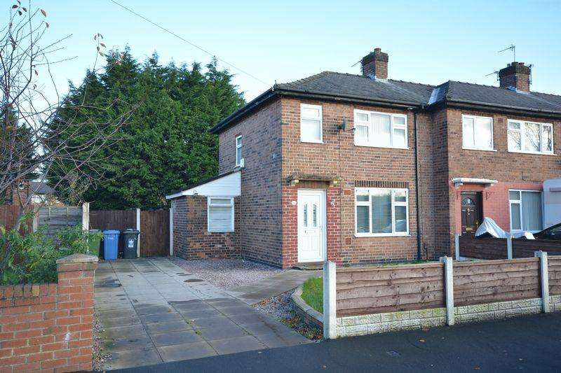 2 Bedrooms End Of Terrace House for sale in Lathom Avenue, Warrington