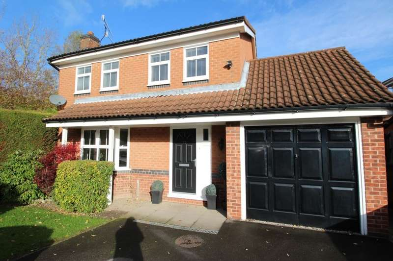4 Bedrooms Detached House for sale in Healaugh Way, Chesterfield, S40