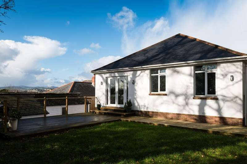 3 Bedrooms Detached Bungalow for sale in Oakland Road, Newton Abbot, TQ12