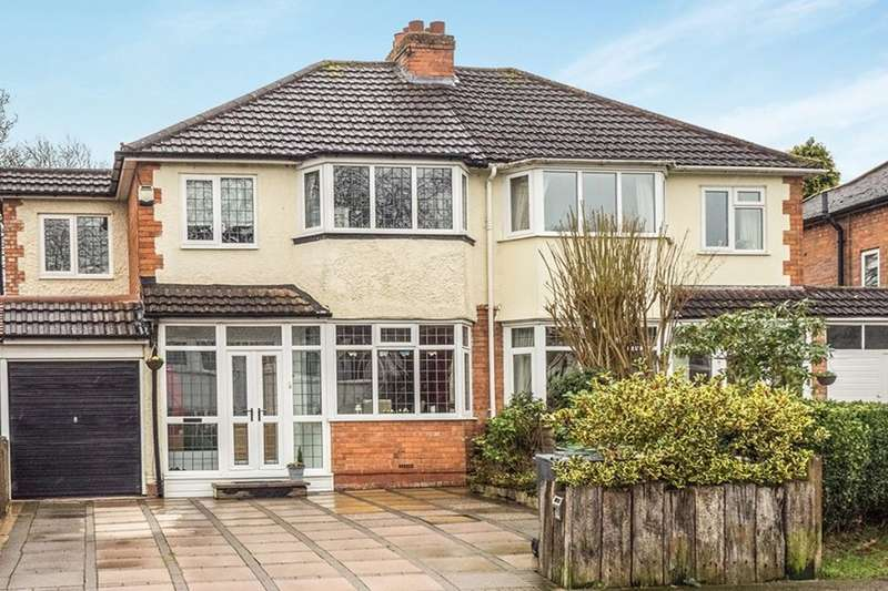 4 Bedrooms Semi Detached House for sale in Three Oaks Road, Wythall, Birmingham, B47