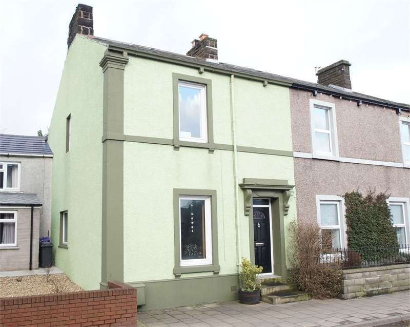2 Bedrooms End Of Terrace House for sale in CA7 3AU Queen Street, Aspatria, Wigton, Cumbria