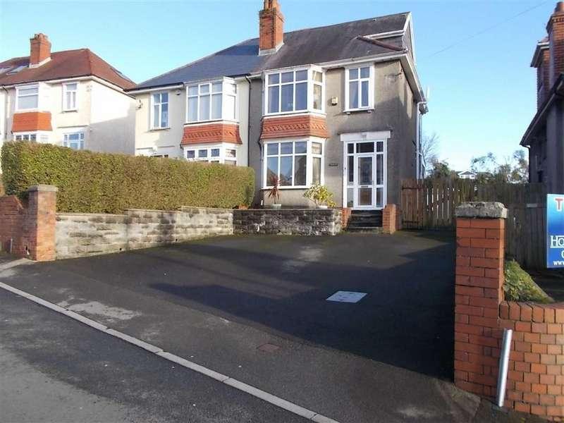 4 Bedrooms Semi Detached House for sale in Llwyn Arosfa, Swansea, SA2