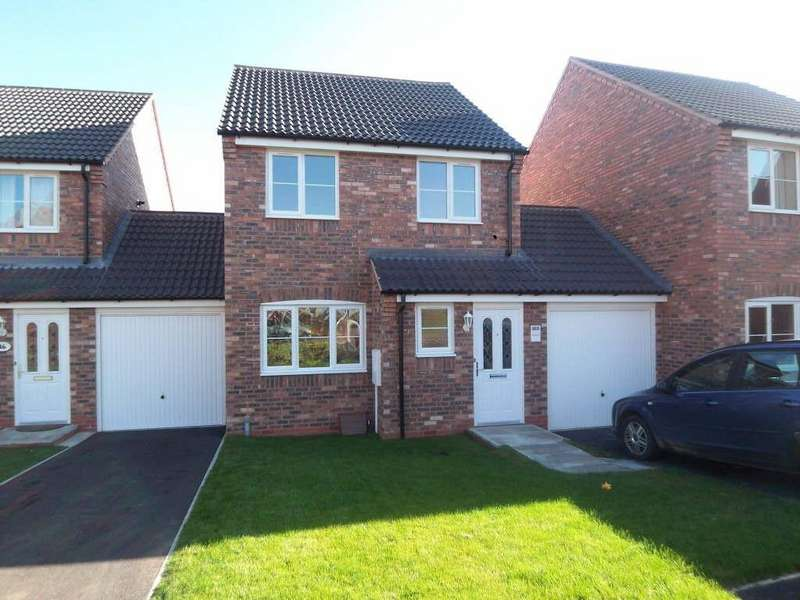 3 Bedrooms Link Detached House for rent in Richard Close, Melton Mowbray, Leicestershire