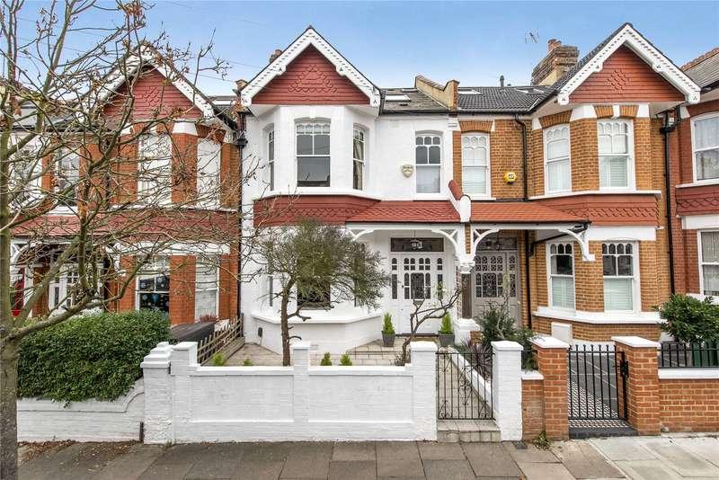 4 Bedrooms Terraced House for sale in Melrose Avenue, Southfields, London, SW19