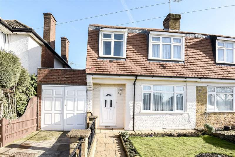 3 Bedrooms Semi Detached House for sale in Oxford Gardens, Denham, Uxbridge, Middlesex, UB9