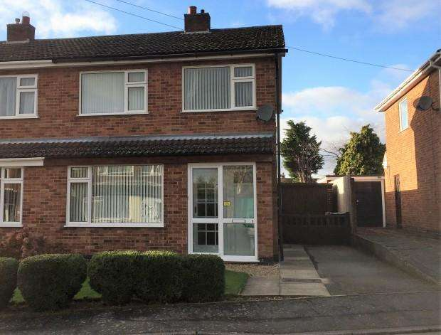 3 Bedrooms Semi Detached House for sale in Welland Rise, Melton Mowbray, LE13
