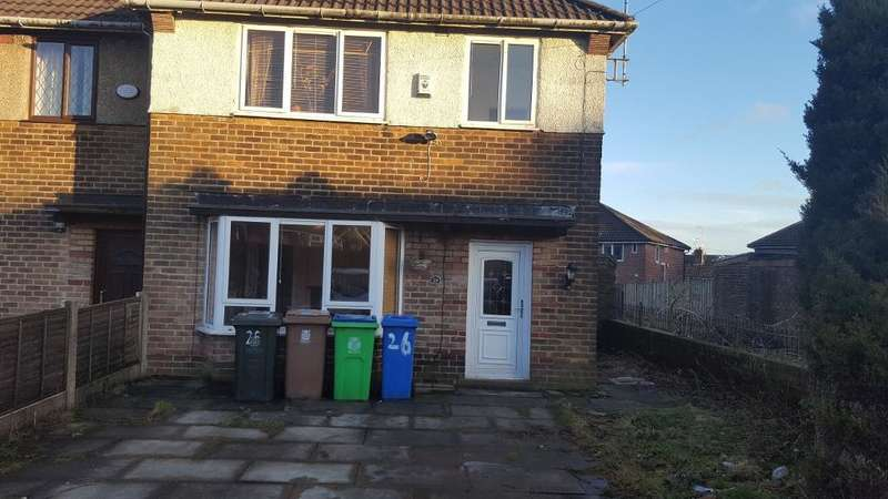 3 Bedrooms Semi Detached House for rent in Ashbrook Crescent, Rochdale, Lancashire, OL12 9AJ