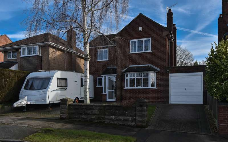 3 Bedrooms Detached House for sale in Hazelton Road, Marlbrook, Bromsgrove, B61