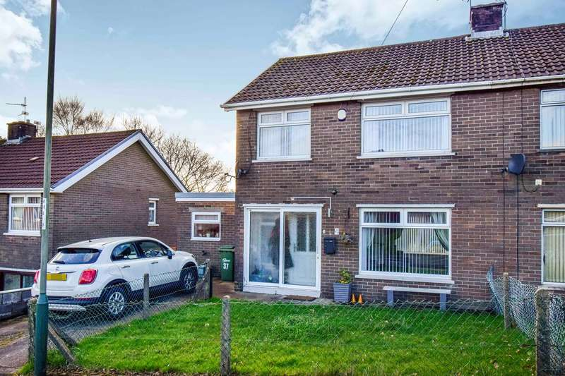3 Bedrooms Semi Detached House for sale in Heol Fawr, Caerphilly, CF83