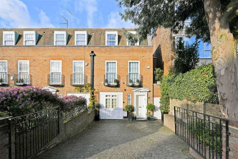 4 Bedrooms End Of Terrace House for sale in Belsize Road, London, NW6
