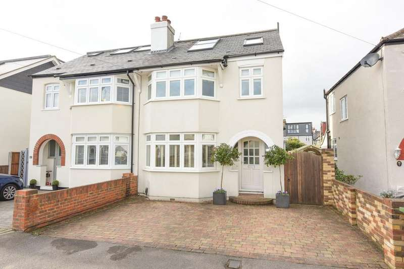 5 Bedrooms Semi Detached House for sale in Melrose Gadens, HERSHAM VILLAGE KT12