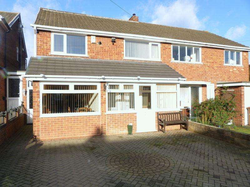 3 Bedrooms Semi Detached House for sale in Tudor Close, Burntwood