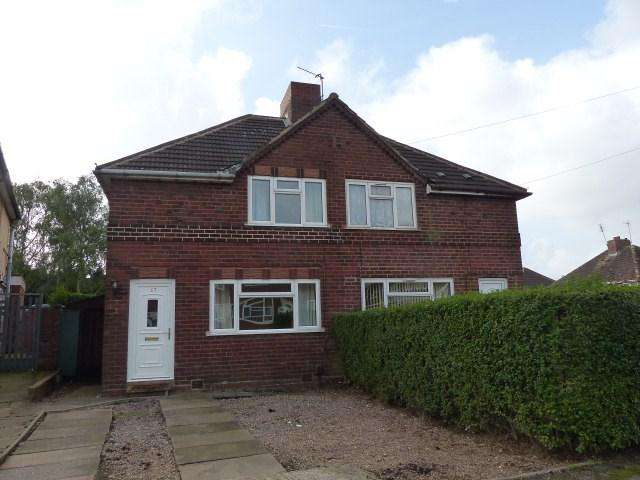 2 Bedrooms Semi Detached House for sale in Stewart Road, Walsall Wood