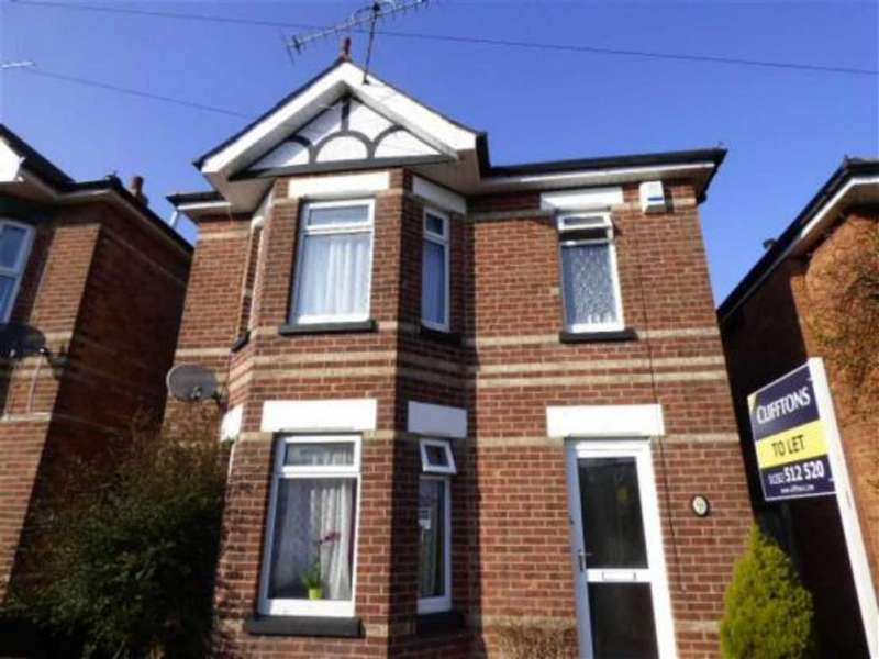 4 Bedrooms Detached House for rent in Green Road, STUDENT HOUSE, Bournemouth, Dorset