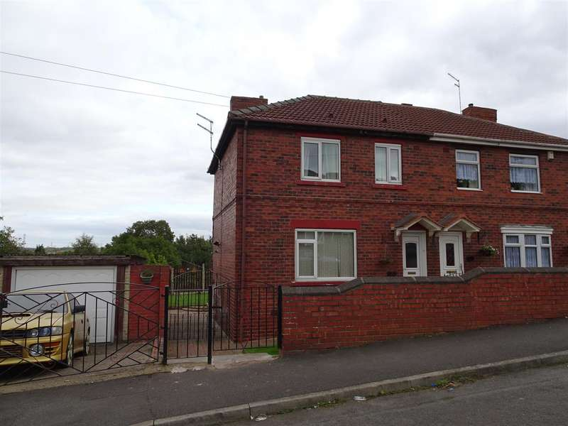 3 Bedrooms Semi Detached House for sale in 9 Nursery Drive, Catcliffe, Rotherham, S60 5SF