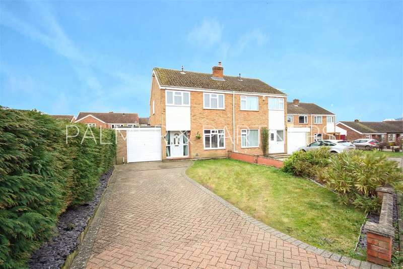3 Bedrooms Semi Detached House for sale in Clopton Gardens, Hadleigh