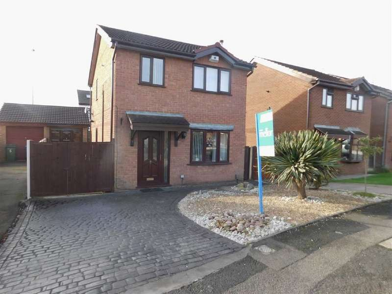 3 Bedrooms Detached House for sale in Kerridge Drive, Bredbury, Stockport