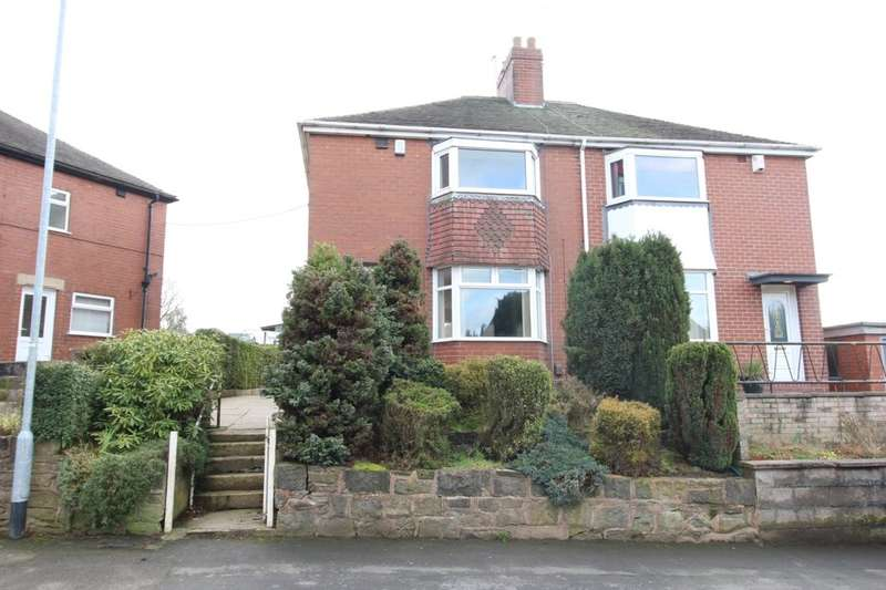 3 Bedrooms Semi Detached House for rent in Mill Hayes Road, Burslem, Stoke-On-Trent, ST6