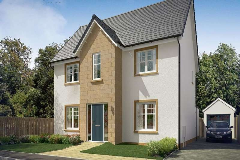 4 Bedrooms Detached House for sale in Shiel Hall Row, Rosewell, EH24