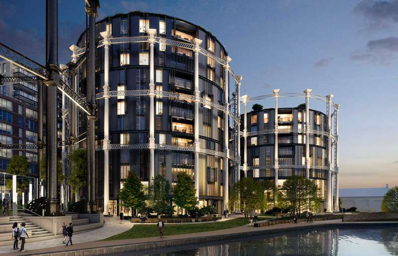 2 Bedrooms Apartment Flat for sale in Gasholders, 1 Lewis Cubitt Square, Kings Cross, London, N1C