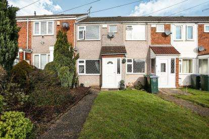 2 Bedrooms Terraced House for sale in Repton Drive, Longford, Coventry, West Midlands