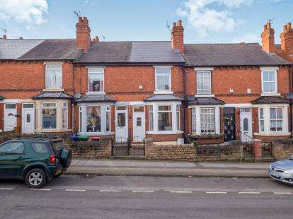 2 Bedrooms Terraced House for sale in Duke Street, Hucknall, Nottingham, Nottinghamshire