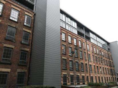 2 Bedrooms Flat for sale in Block 3 The Hicking Building, Queens Road, Nottingham, Nottinghamshire