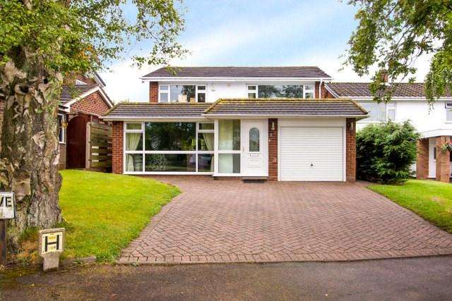 4 Bedrooms Detached House for sale in Leandor Drive, Streetly